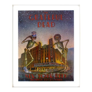 The Grateful Dead Poster - New York City For Sale