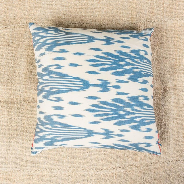 Place this stylish sofa pillow in your favorite room and watch it transform the space. The rich color on this blue sofa...