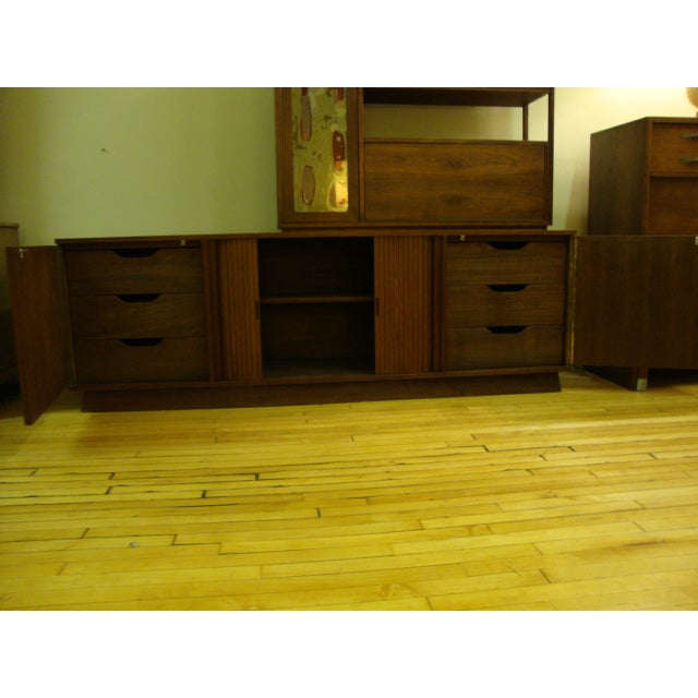 MCM Buffet & China Top With Drop Down Bar - Image 5 of 10