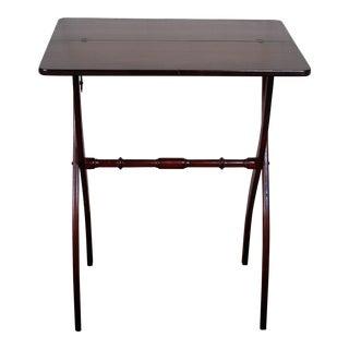 Solid Mahogany Folding Table