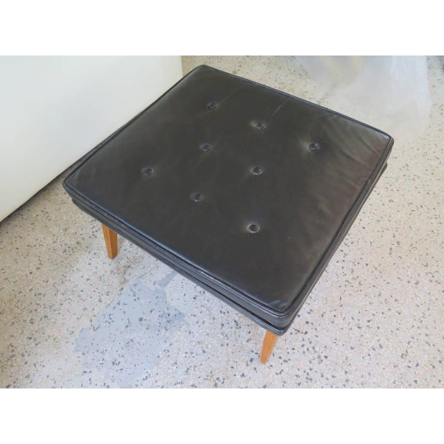 Edward Wormley for Dunbar Angled Ottoman For Sale In Tampa - Image 6 of 7