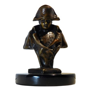 Bronze Table-Top Bust of Napoleon Bonaparte For Sale