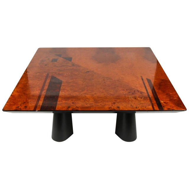 Mod Italian Inlay Coffee Table - Image 1 of 6
