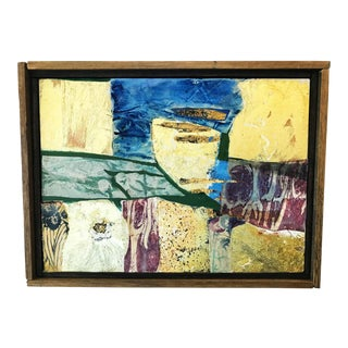 Abstract Cubist Painting For Sale