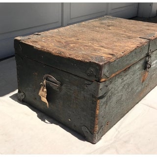 20th Century Americana Distressed Wooden Trunk Preview