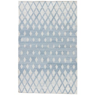 Jaipur Living Winipeg Geometric Blue & Cream Area Rug - 2' X 3'