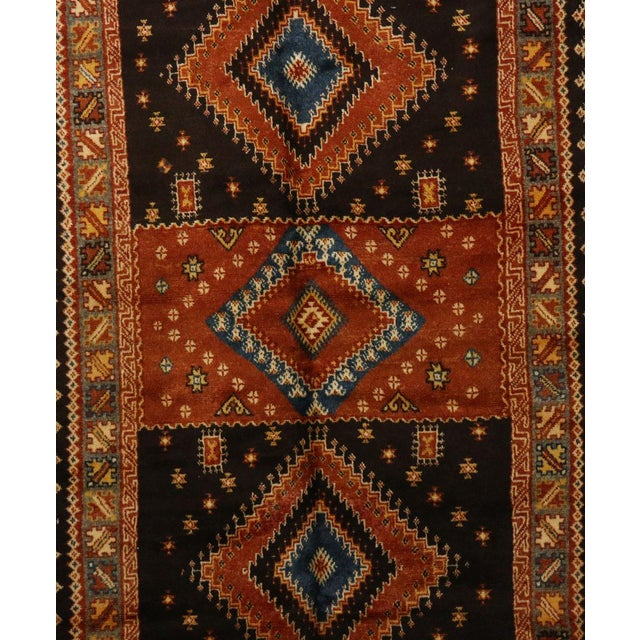 """Taznakht Moroccan Rug, 5'1"""" X 8'9"""" Feet For Sale - Image 4 of 6"""