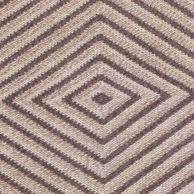 Vintage Scandinavian Swedish rug, Sweden, mid-20th century - Here is a fascinating vintage Scandinavian rug - A mid-20th...