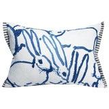 Image of Groundworks for Kravet Lee Jofa Hunt Slonem Collection Lumbar Pillow For Sale
