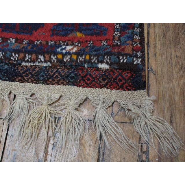 Antique Kurdish Rug For Sale - Image 10 of 10