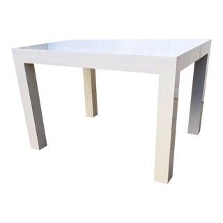 1970s Vintage Milo Baughman Side Table For Sale