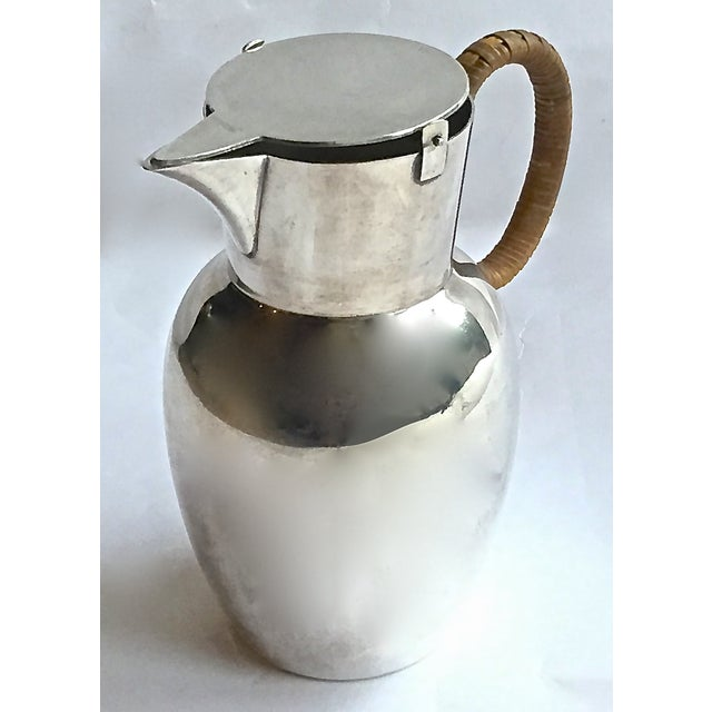 Mid-Century Modern Mid-Century Modern WMF German Silverplated Pitcher For Sale - Image 3 of 9