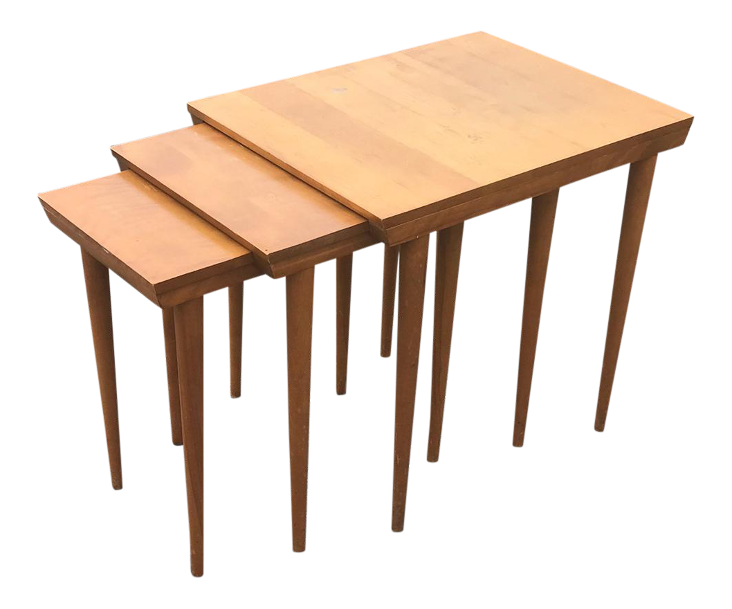 Mid-Century Modern Nesting Tables - Set of 3  sc 1 st  Chairish & Mid-Century Modern Nesting Tables - Set of 3 | Chairish