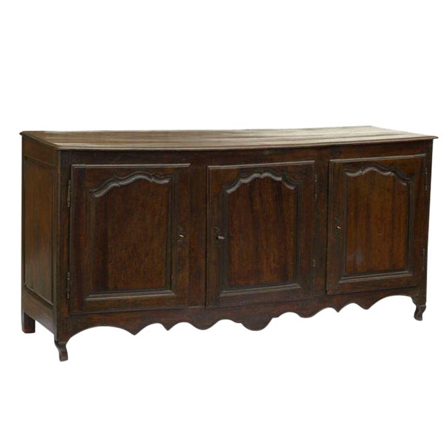 Early 19th Century French Continental Oak Enfilade For Sale
