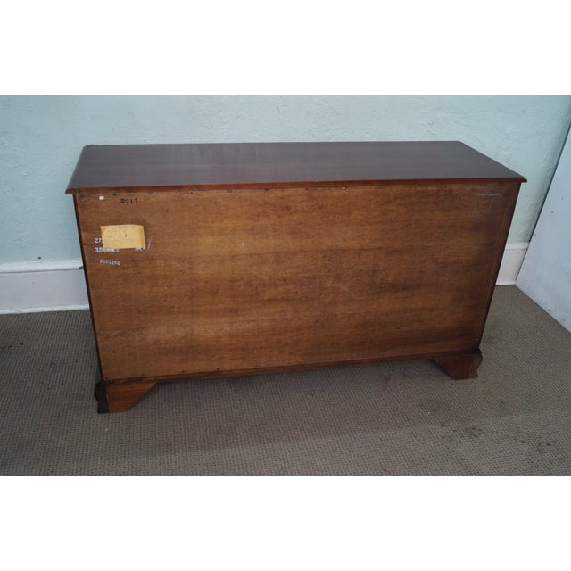 Statton Old Towne Cherry Chippendale Chest Dresser - Image 7 of 10