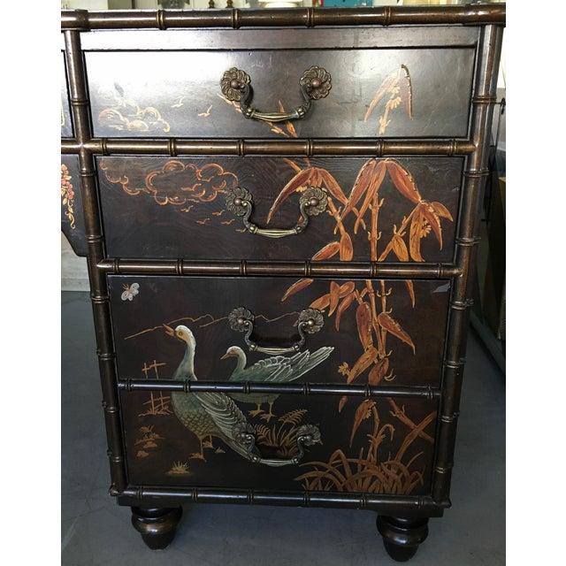 Henredon Folio 10 Asian Style Desk For Sale - Image 5 of 10