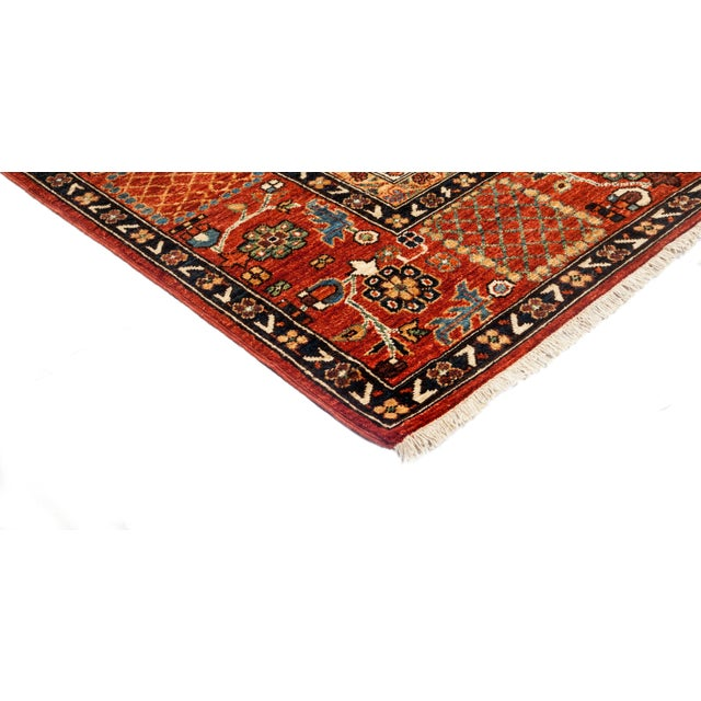 New Traditional Hand-Knotted Medallion Rug - 8′10″ × 13′10″ - Image 2 of 3