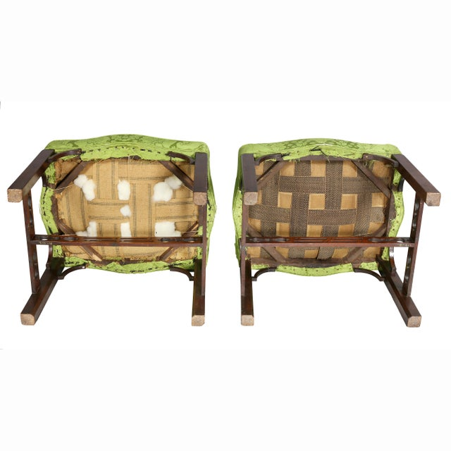 George III Mahogany Footstools - a Pair For Sale - Image 12 of 13