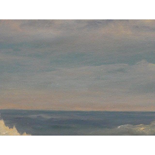 Mid Century Ocean Scene Painting - Image 3 of 10