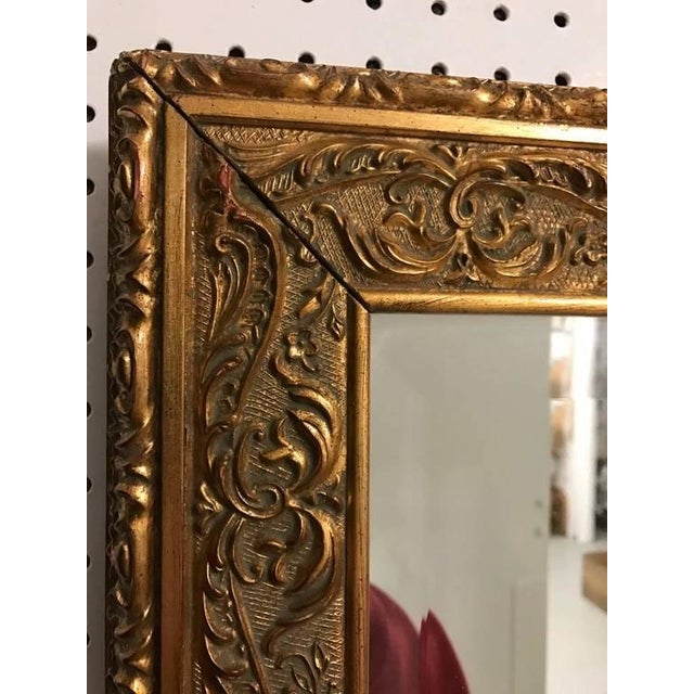 Giltwood Mirror with Beautiful Scroll Work - Image 5 of 6