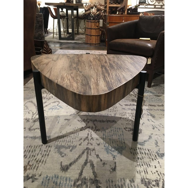 The unique shape of Cima coffee tables compliment contemporary and mid century decor. Taracea is a world re-known...