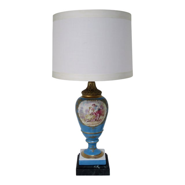 Maxant Porcelain Table Lamp For Sale