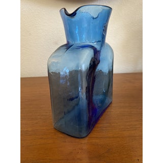 1950s Blue Blenko Carafe Preview