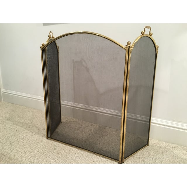 Antique Arched Fire Screen - Image 2 of 4