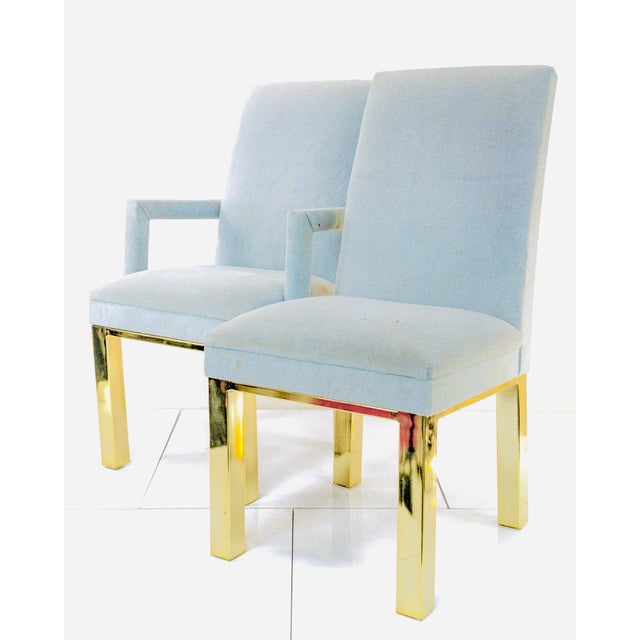Metal 1970s Milo Baughman for Dia Dining Chairs- A Pair For Sale - Image 7 of 7