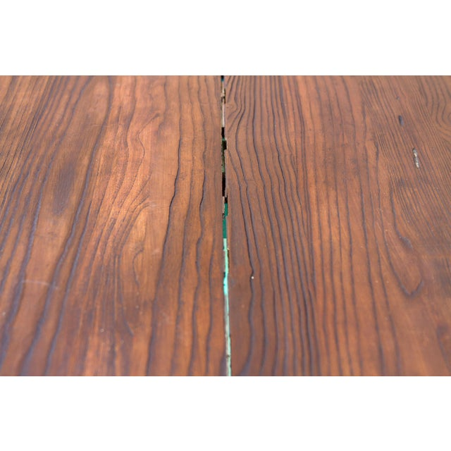 Metal Vibrant Spanish Colonial Dining Table For Sale - Image 7 of 8