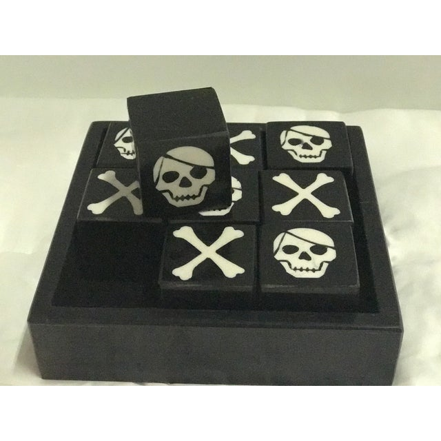 Contemporary Skull & Bones Tic Tac Toe For Sale - Image 3 of 5