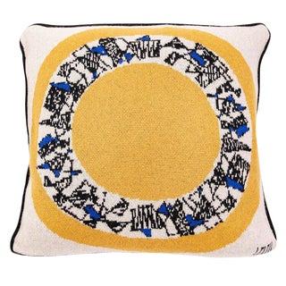Maison Leleu - Mirror White Cashmere Pillow For Sale