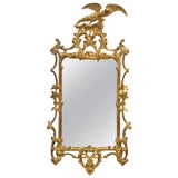 Image of Italian Giltwood Eagle Mirror For Sale