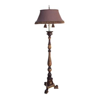 Tuscan Style Altar Stick Floor Lamp For Sale