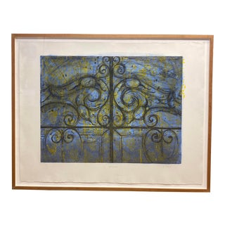 "Jim Dine Lithograph. Titled ""Crommelynck Gate"" For Sale"