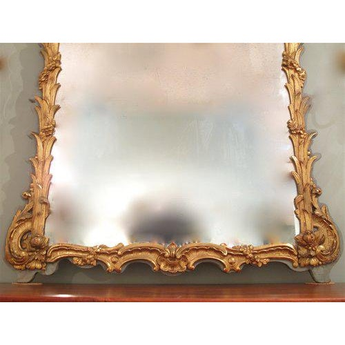 French Louis XV Style Painted and Gilt Mirror - Image 6 of 11