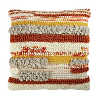 """Piper Collection Natural Wool """"Sophie"""" Pillow For Sale"""