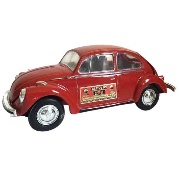 Vintage 1970's Volkswagen Bug Liquor Decanter Retro Barware - Image 1 of 7