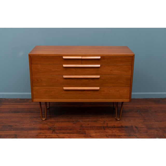 Mid-Century Modern Edward Wormley Chest of Drawers for Dunbar For Sale - Image 3 of 11