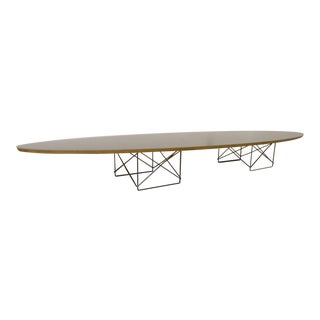 Mid-Century Modern Eames Surfboard Coffee Table For Sale