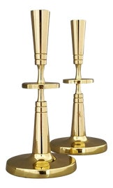 Image of Art Deco Candle Holders