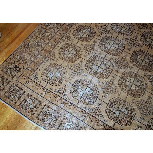 1900s Handmade Antique Uzbek Khotan Rug 6.2' X 12.10' For Sale In New York - Image 6 of 10