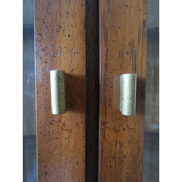 Beveled Glass China Display Cabinet - Image 6 of 7