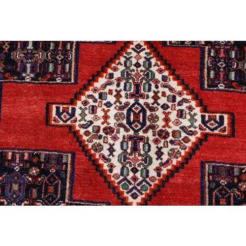 Semi Antique Persian Senneh Runner - 4′10″ × 10′5″ For Sale - Image 5 of 7