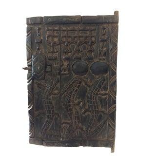 African Dogon Granary Door For Sale