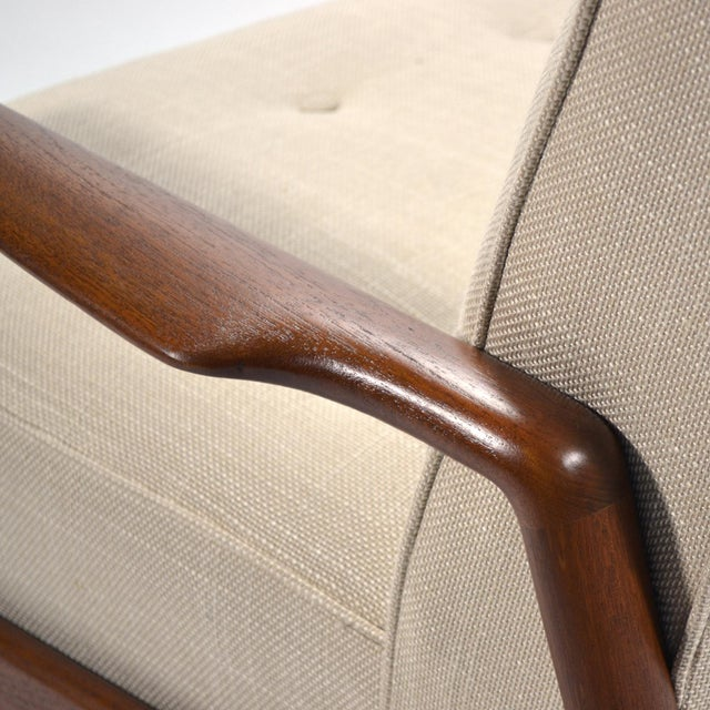 1950s Ib Kofod-Larsen Highback Lounge Chair For Sale - Image 5 of 9