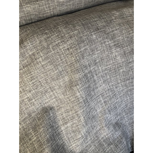 Modern Romo Solid Texture Fabric - 10 Yards For Sale - Image 3 of 7