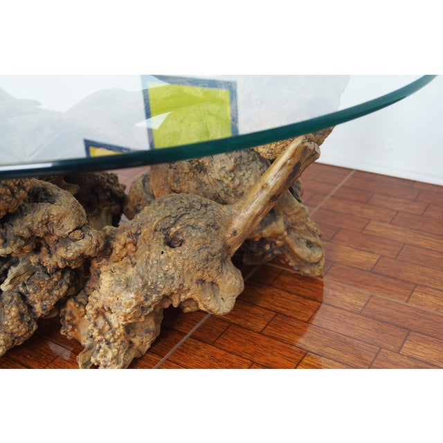 Vintage Burlwood Coffee Table - Image 4 of 6