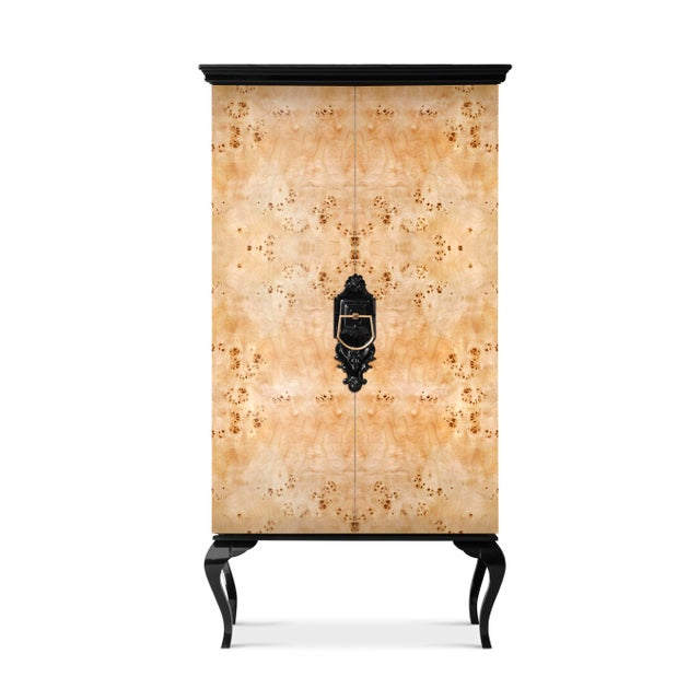 Mid-Century Modern Guggenheim Poplar Root Cabinet From Covet Paris For Sale - Image 3 of 3