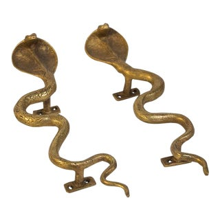 Cobra Door Pulls - a Pair